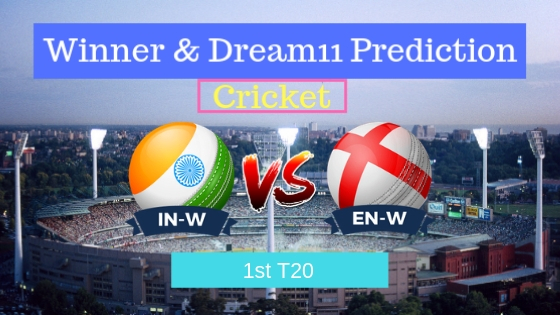 India Women vs England Women 1st T20 T20