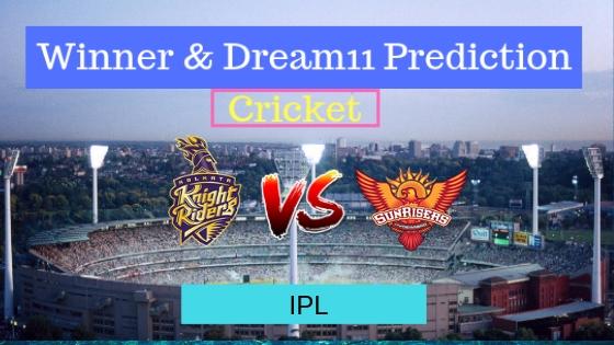 Kolkata Knight Riders vs Sunrisers Hyderabad 2nd T20 Indian Premier League 2019