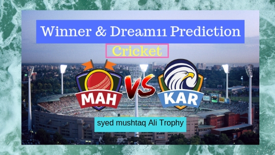 Maharashtra vs Karnataka Final T20 T20