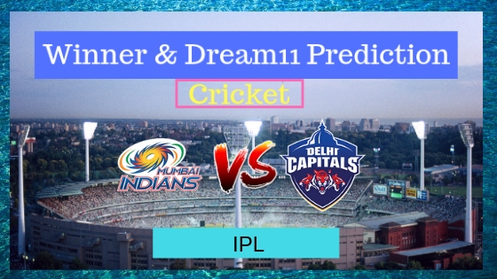 Mumbai Indians vs Delhi Capitals 3rd T20 Indian Premier League 2019