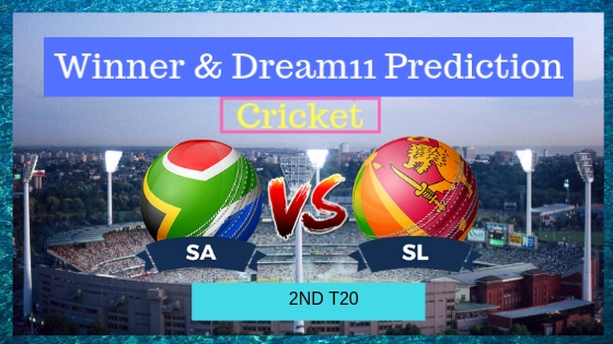 South Africa vs Sri Lanka 2nd T20 T20