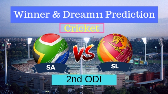 South Africa vs Sri Lanka 2nd ODI ODI