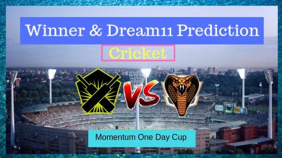Warriors vs Cape Cobras 28th ODI Momentum One Day Cup