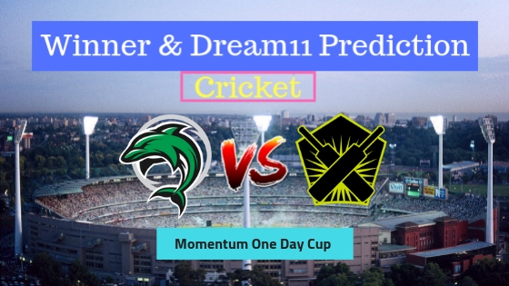 Dolphins vs Warriors 2nd Semi-Final Momentum One Day Cup
