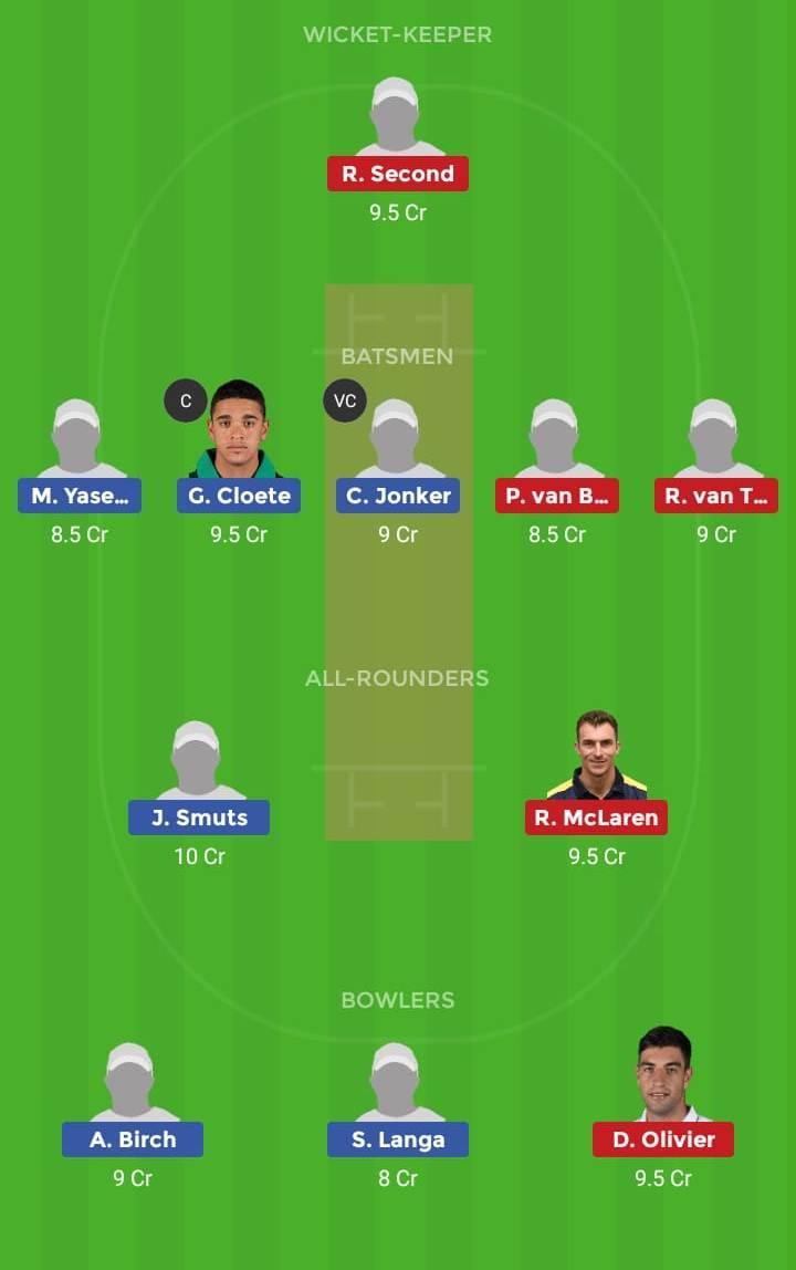 Warriors vs Knights 22nd ODI ODI