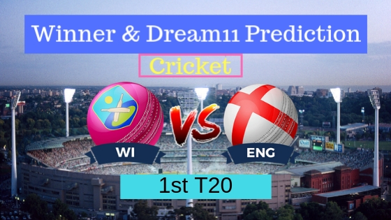 Windies vs England 1st T20 ENG Tour WI 2019