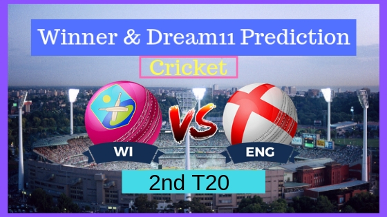 Windies vs England 2nd T20 ENG Tour WI 2019