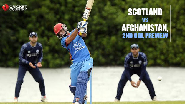 Scotland vs Afghanistan 2nd ODI AFG Tour SCO