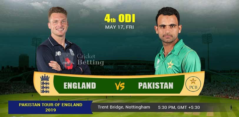 England vs Pakistan 4th ODI PAK Tour ENG