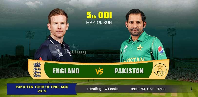 England vs Pakistan 5th ODI PAK Tour ENG