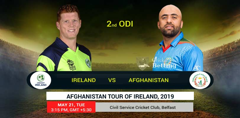 Ireland vs Afghanistan 2nd ODI IRE Tour AFG