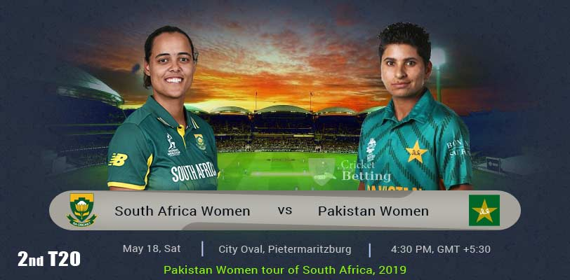 South Africa Women vs Pakistan Women 2nd T20 PAKW Tour RSAW