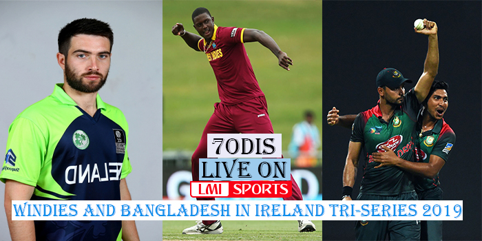 Ireland vs Bangladesh 3rd ODI Windies and Bangladesh in Ireland Tri-Series