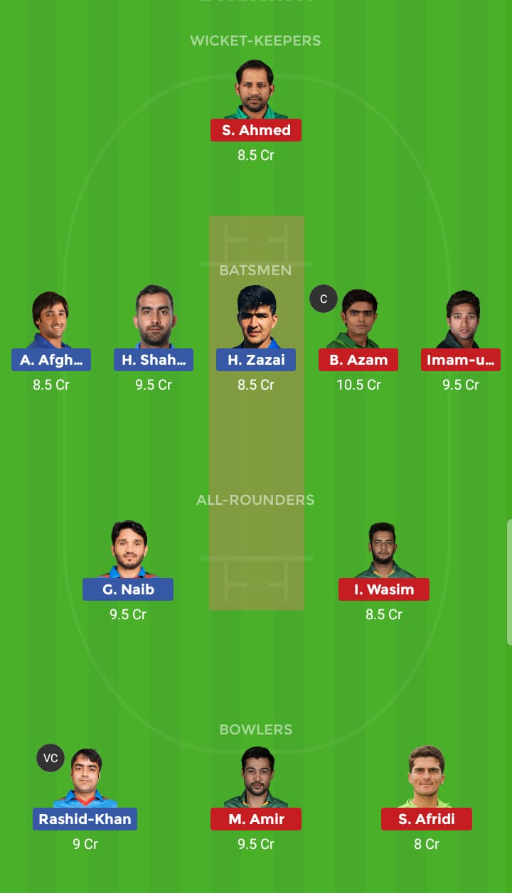 Pakistan vs Afghanistan 36th ODI ICC Cricket World Cup
