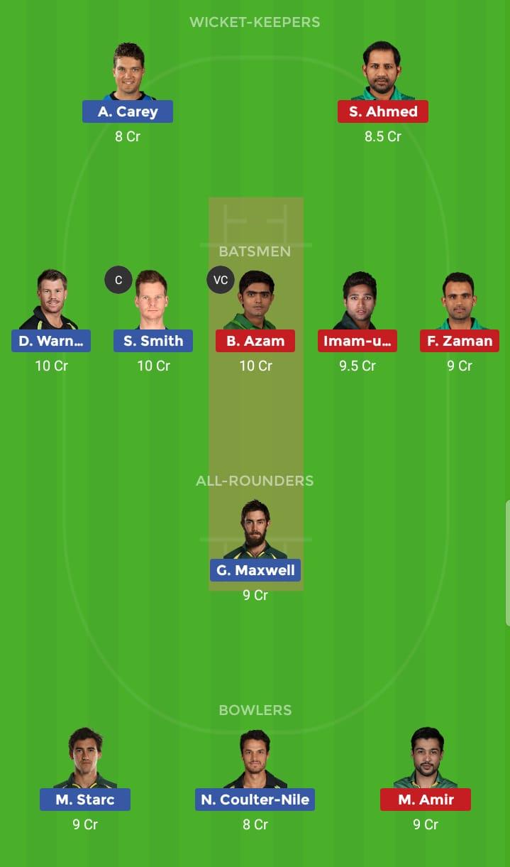 Australia vs Pakistan 17th ODI ICC Cricket World Cup