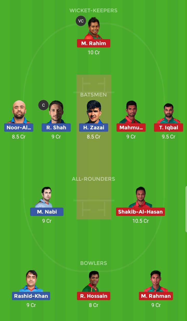 Bangladesh vs Afghanistan 31st ODI ICC Cricket World Cup