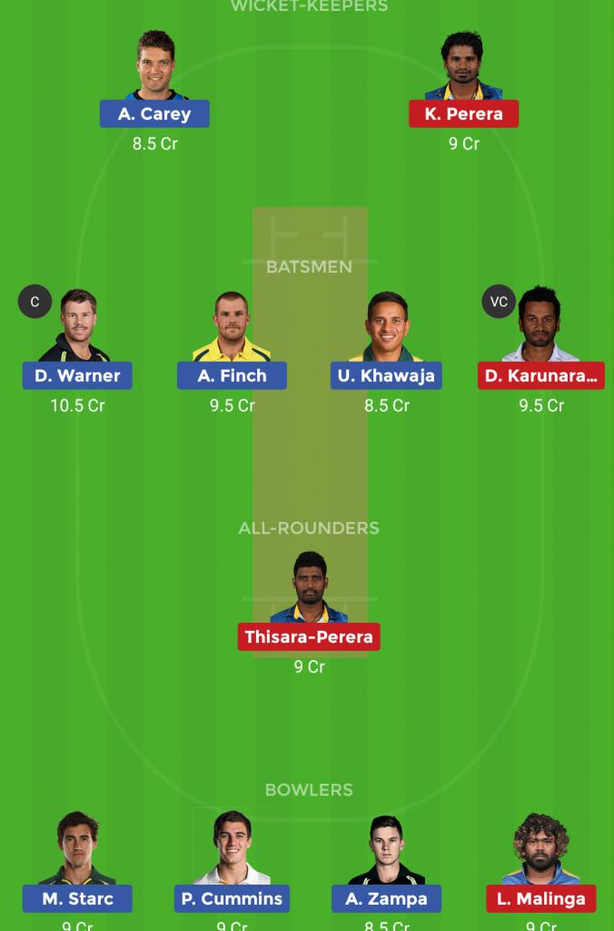 Sri Lanka vs Australia 20th ODI ICC Cricket World Cup
