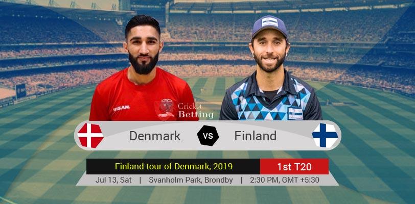 Denmark vs Finland 1st T20 Finland tour of Denmark