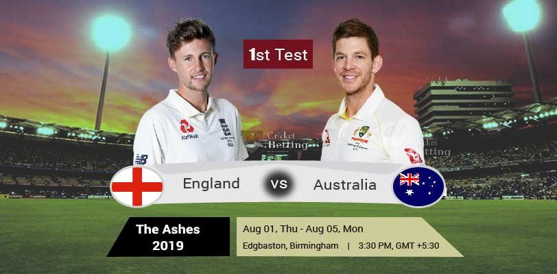 England vs Australia 1st Test The Ashes