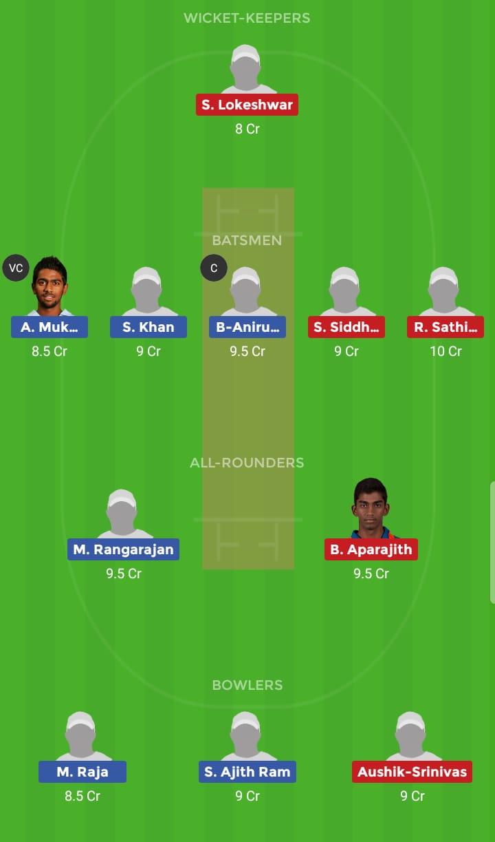 Lyca Kovai Kings vs Vb Kanchi Veerans 4th T20 Tamil Nadu Premier League