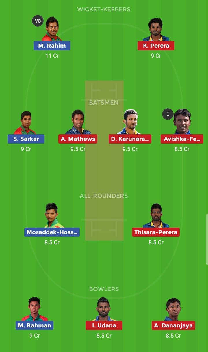 Sri Lanka vs Bangladesh 3rd ODI BAN Tour SL