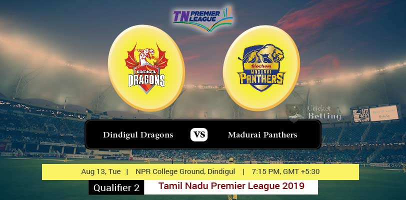 Dindigul Dragons vs Madurai Panthers Qualifier 2 TNPL