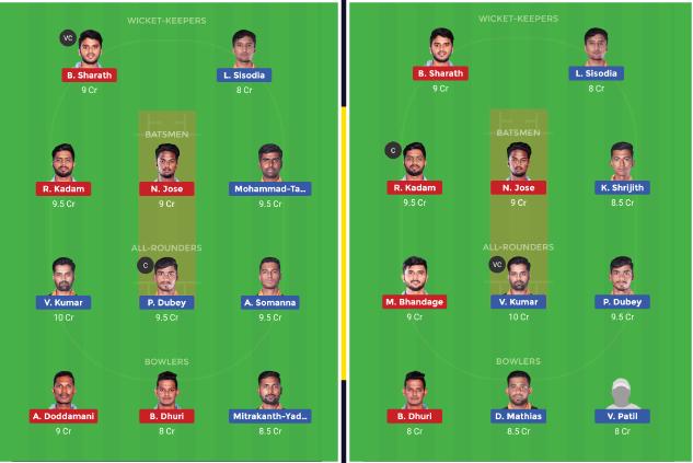 Hubli Tigers vs Bengaluru Blasters 18th T20 KPL