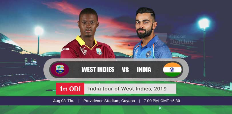 India vs Windies 1st ODI IND Tour WI