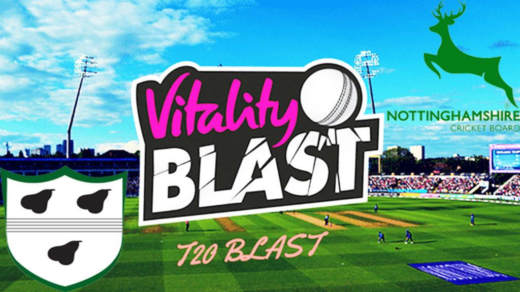 Nottinghamshire vs Worcestershire T20 Blast