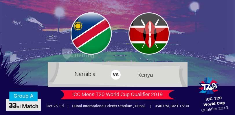 Namibia vs Kenya ICC T20 World Cup Qualifier
