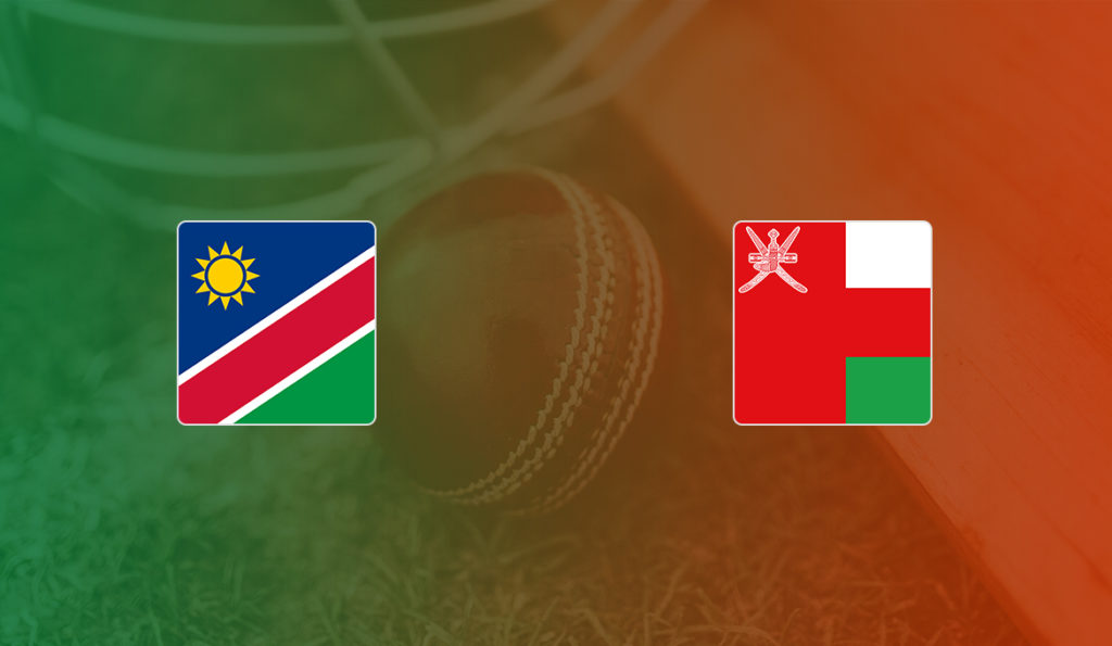 Namibia vs Oman ICC T20 World Cup Qualifier