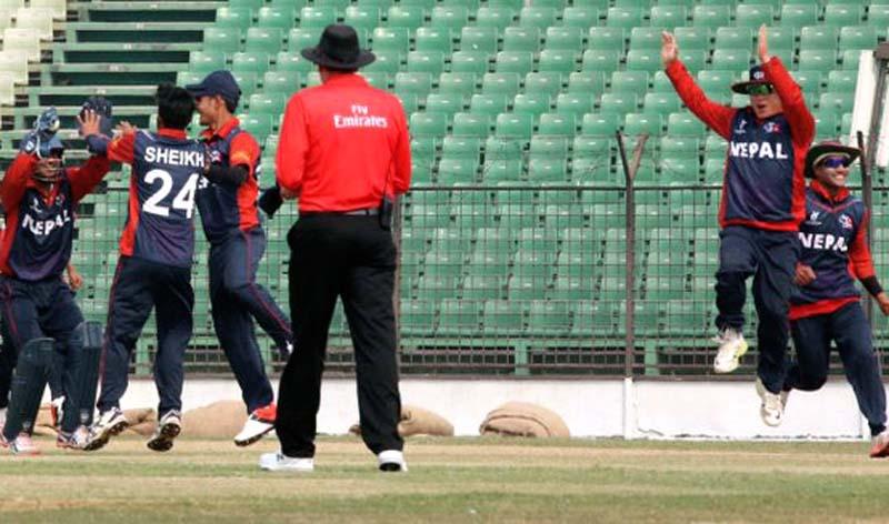 Ireland vs Nepal Oman T20 Series