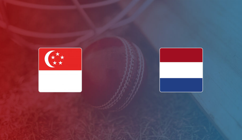 Singapore vs Netherlands ICC T20 World Cup Qualifier