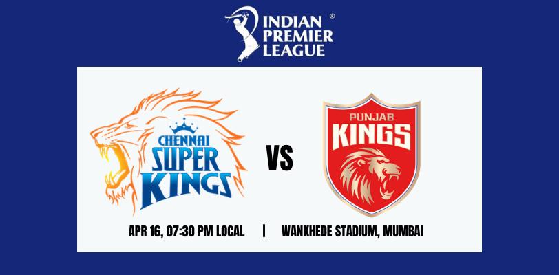 Punjab Kings vs Chennai Super Kings 8th T20 IPL 2021