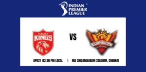 Punjab Kings vs Sunrisers Hyderabad 14th T20 IPL 2021