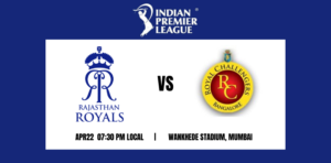 Royal Challengers Bangalore vs Rajasthan Royals 16th T20 IPL 2021