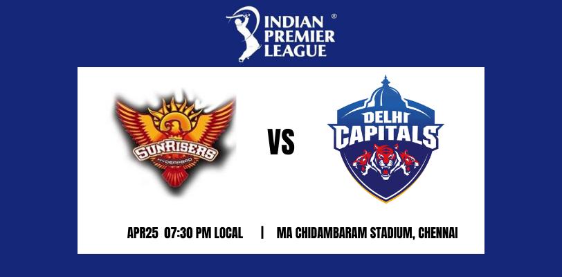 Sunrisers Hyderabad vs Delhi Capitals 20th T20 IPL 2021