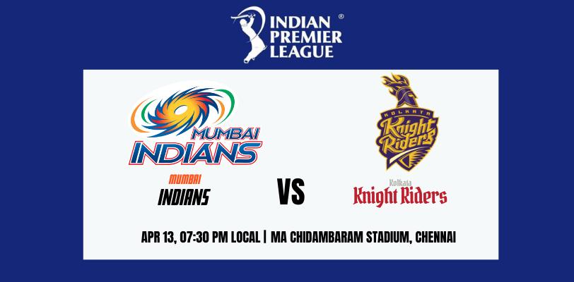 Kolkata Knight Riders vs Mumbai Indians 5th T20 IPL 2021